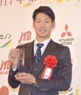 『日本プロスポーツ大賞殊勲賞』授賞式に出席した京田陽太 (C)ORICON NewS inc.