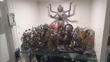 松本金太郎の自宅に飾られている仏像コレクション=『メレンゲの気持ち』より(C)日本テレビ