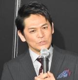 コナミ『パワプロチャンピオンシップス2017全国決勝大会』に出席した岡田圭右 (C)ORICON NewS inc.