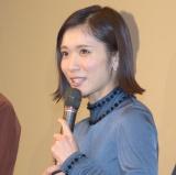 映画『勝手にふるえてろ』大ヒット御礼舞台あいさつに登壇した松岡茉優 (C)ORICON NewS inc.