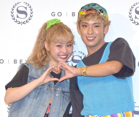 サムネイル ぺこ(左)が妊娠、りゅうちぇるパパに! (C)ORICON NewS inc.