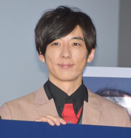 映画『blank13』公開初日舞台あいさつに登壇した主演の高橋一生 (C)ORICON NewS inc.