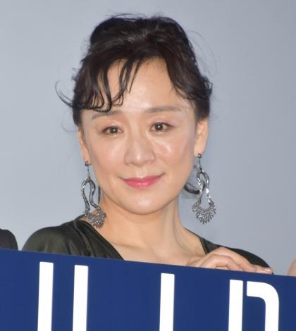 映画『blank13』公開初日舞台あいさつに登壇した神野三鈴 (C)ORICON NewS inc.