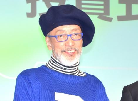 『ジャパン キャンピングカーショー2018 普及貢献賞』を受賞したテリー伊藤 (C)ORICON NewS inc.