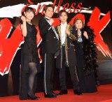 ミュージカル『Endless SHOCK』に出演する(左から)瀧本美織、中山優馬、堂本光一、久野綾希子 (C)ORICON NewS inc.