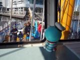 横浜・みなとみらい ぷかりさん橋で行われた新生ドラりん丸 キャプテンドラえもん号 宝島凱旋(乗船)イベントの模様 (C)ORICON NewS inc.