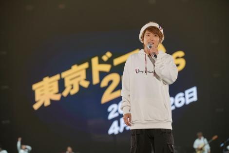 初の東京ドーム2days公演決定に涙したNissy=『Nissy Entertainment 2nd LIVE』より