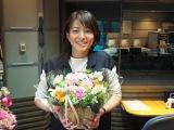 4月から復帰する赤江珠緒アナウンサー(昨年3月の産休入り直前/写真提供:TBSラジオ)