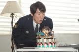 カンテレ・フジテレビ系連続ドラマ『FINAL CUT』撮影現場で誕生日を迎えた佐々木蔵之介(C)カンテレ