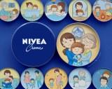 さくらももこさんが描いた『NIVEA STORIES PROJECT』のイラスト