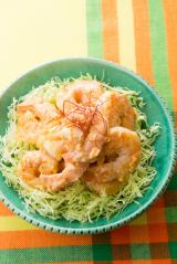 ニッチェ江上のレシピ「揚げないエビチリ」