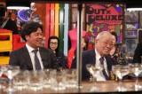 野村克フジテレビ系『アウト×デラックス』に出演する野村克也氏 と野村克則氏(C)フジテレビ