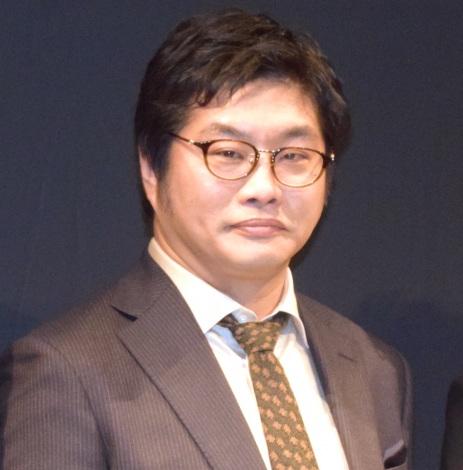 舞台『バリーターク』の制作発表会に出席した松尾諭 (C)ORICON NewS inc.