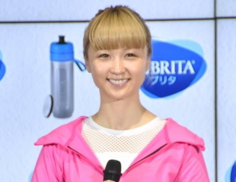 Dream Ami=BRITA Japan『fill&go Active』発売PRイベント (C)ORICON NewS inc.