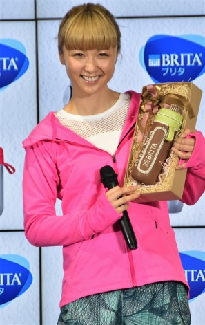 BRITA Japan『fill&go Active』発売PRイベントに出席したDream Ami (C)ORICON NewS inc.