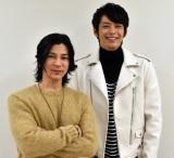 『めちゃイケ』への熱い思いを語った(左から)武田真治、敦士 (C)ORICON NewS inc.
