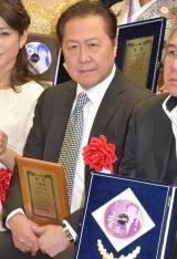 『第54回 平成29年度日本クラウンヒット賞』贈呈式に出席した石橋凌 (C)ORICON NewS inc.