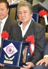 『第54回 平成29年度日本クラウンヒット賞』贈呈式に出席した鳥羽一郎 (C)ORICON NewS inc.