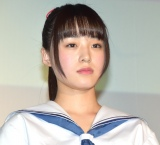 小牧那凪=映画『金沢シャッターガール』舞台あいさつ (C)ORICON NewS inc.