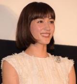 『今夜、ロマンス劇場で』初日舞台あいさつ登壇した綾瀬はるか (C)ORICON NewS inc.
