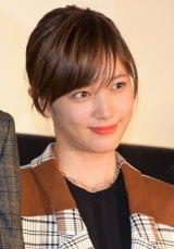 『今夜、ロマンス劇場で』初日舞台あいさつ登壇した本田翼 (C)ORICON NewS inc.