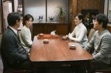 NHK・BSプレミアムで放送中の『我が家の問題』オムニバスドラマに登場する4人の妻をひとり4役で演じ分けた水川あさみ。第3回「初めての里帰りに悩む妻」夫役は勝地涼(C)NHK