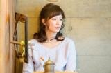 NHK・BSプレミアムで放送中の『我が家の問題』オムニバスドラマに登場する4人の妻をひとり4役で演じ分けた水川あさみ。最終回「甘い生活?に悩む妻」夫役は小池徹平(C)NHK
