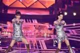 2月12日放送、TBS系『歌のゴールデンヒット−青春のアイドル50年間−』では昨年末レコード大賞に参加したピンクレディーに密着(C)TBS