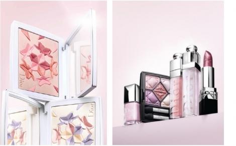 サムネイル 透明感溢れるカラーが春の陽射しのようなキラめきを叶える Dior「スノー カラー コレクション 2018」