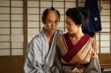 出会い茶店で、源太郎は大女・おやす(是永瞳)を紹介される(C)BSジャパン