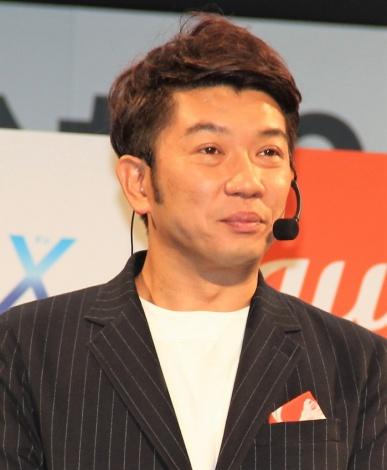「auひかり新サービスPRイベント」に登場したTKO・木本武宏 (C)ORICON NewS inc.