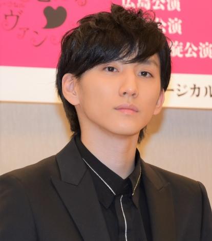 『恋するヴァンパイア』製作記者発表会見に出席した京本大我 (C)ORICON NewS inc.