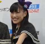 ニッポン放送『ももクロくらぶ xoxo〜バレンタイン DE NIGHTだぁ〜Z!2018<表>』の開演前に取材に応じたももいろクローバーZの高城れに (C)ORICON NewS inc.