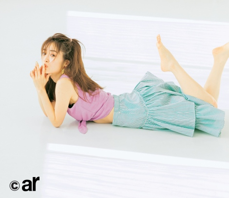 サムネイル 『ar』3月号に登場する泉里香