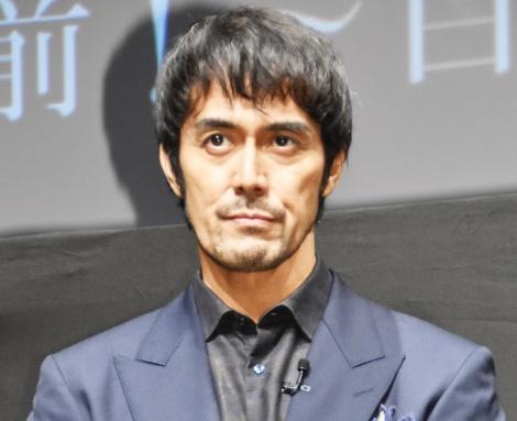 映画『空海 —KU-KAI— 美しき王妃の謎』のイベントに出席した阿部寛 (C)ORICON NewS inc.