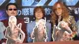 THE ALFEE (左から)桜井賢、坂崎幸之助、高見沢俊彦(C)ORICON NewS inc.