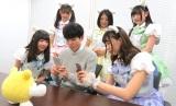 『パシャ★モン』でゲーム対決 (C)ORICON NewS inc.