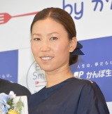 都内で行われた『かんぽEat&Smile プロジェクト』キックオフPRイベントに出席した上田桃子 (C)ORICON NewS inc.