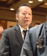 船村徹さんの一周忌法要に参列した加藤和也 (C)ORICON NewS inc.