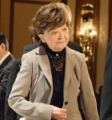 船村徹さんの一周忌法要に参列した内館牧子 (C)ORICON NewS inc.