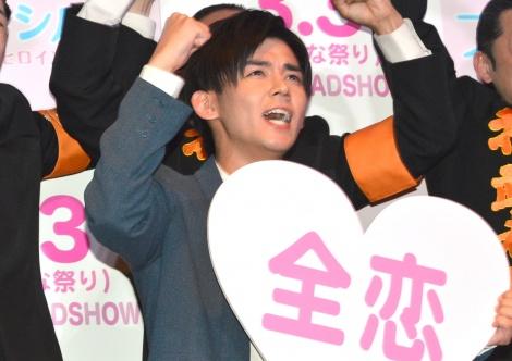 映画『プリンシパル〜恋する私はヒロインですか?〜』の全恋応援イベントに出席したジャニーズWEST・小瀧望 (C)ORICON NewS inc.