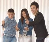 (左から)映画『光へ、航る』の太田光監督、出演する尾野真千子、草なぎ剛 (C)ORICON NewS inc.