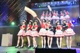 AKB48チーム8がウエイトレス姿で「青空カフェ」(C)AKS