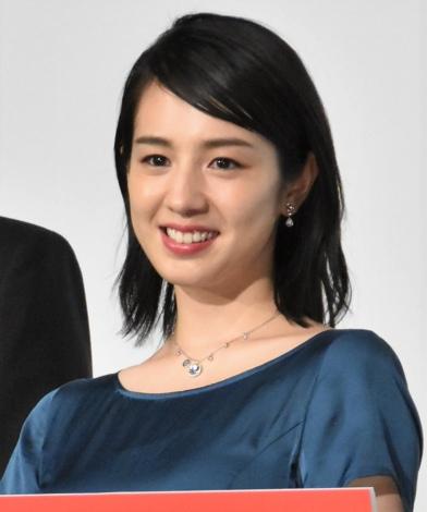 『マンハント』公開記念舞台あいさつに出席した桜庭ななみ (C)ORICON NewS inc.