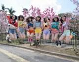 平均年齢16歳!フレッシュなChuning Candy(チューニングキャンディー)(左から)琴音、千夏、ソフィー、LILI、ゆうり、優美香、愛子 (C)ORICON NewS inc.