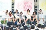 地元沖縄でデビュー曲「Dance with me」を披露したChuning Candy(チューニングキャンディー) (C)ORICON NewS inc.