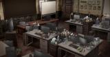Netflixオリジナルアニメ『B: The Beginning』(3月2日より世界同時配信)美術設定画・RIS本部(C)Kazuto Nakazawa / Production I.G