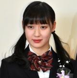 堀越高校卒業会見を行ったX21・松田莉奈 (C)ORICON NewS inc.