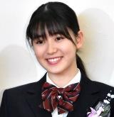 堀越高校卒業会見を行ったX21・小澤奈々花 (C)ORICON NewS inc.