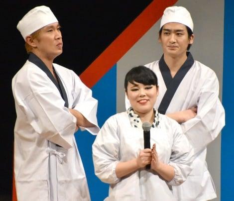 AbemaTV presents『ワタナベお笑いNo.1決定戦2018』決勝のBブロックに出場したブルゾンちえみ (C)ORICON NewS inc.